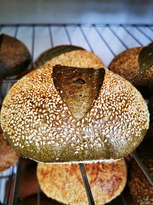 Pâine cu spirulină 400 gr