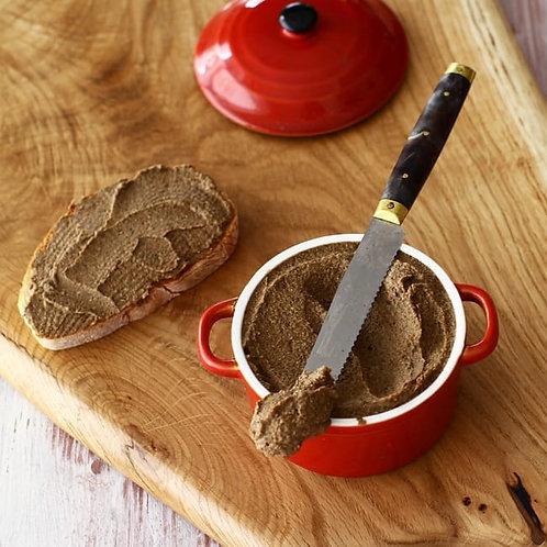 Pate de linte cu ciuperci și nuci 250 gr