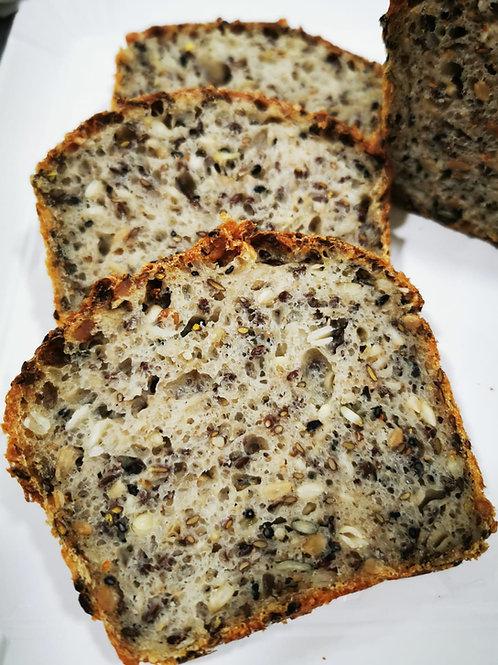 Pâine cu fibre - 50% semințe germinate 500gr