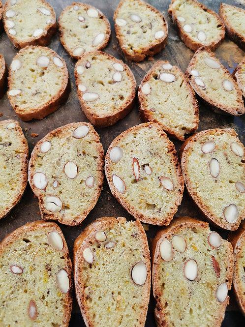Biscuiți cu migdale 120gr