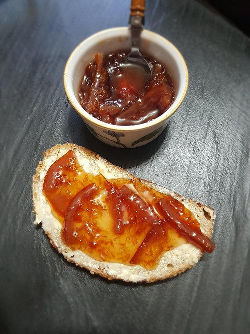 Marmeladă de portocale roșii cu Cabernet 200gr
