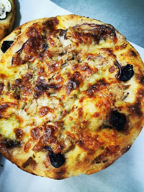 Focaccia cu mozzarella și ton 650gr