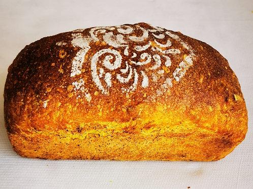 Pâine cu morcov copt și semințe de floarea soarelui 500gr