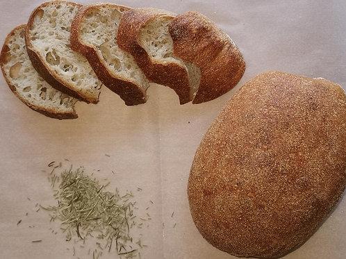 Pâine intermediară Eco cu rozmarin 600 gr