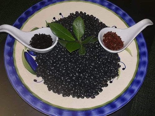 Pastă de fasole neagră cu ceapă caramelizată și chipotle 250gr