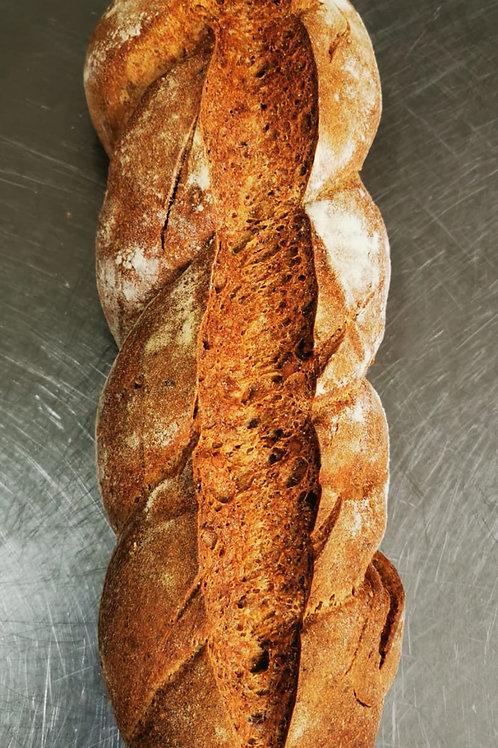 Pâine spelta 100% cu nuci coapte 600gr