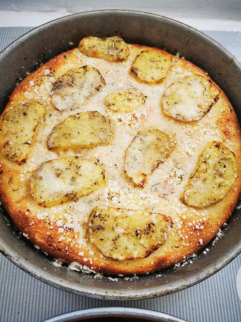 Focaccia cu cartofi și parmezan 500gr
