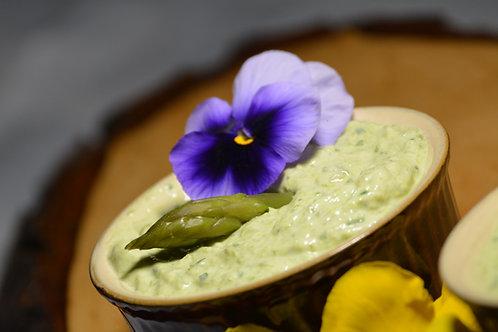 Crema de brânză cu sparanghel 250gr
