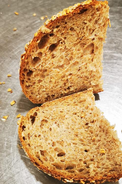Pâine integrală cu ovăz și fulgi de ovăz 500gr
