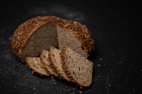 Pâine cu semințe de in și floarea soarelui 550gr