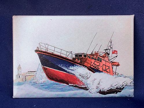 Lifeboat 52-02 Fridge Magnet