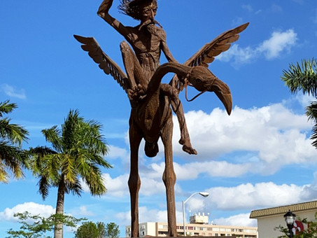 Don Quijote - Hialeah behind the Art