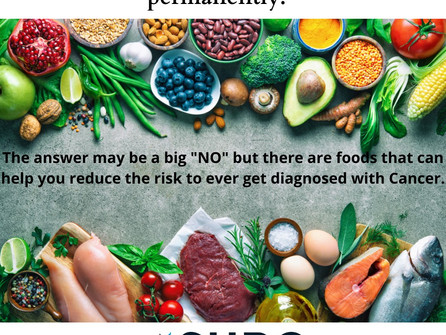 """""""Is there any food that will prevent cancer permanently?"""" - Dr Antonio Giordano, Sbarro Institute"""
