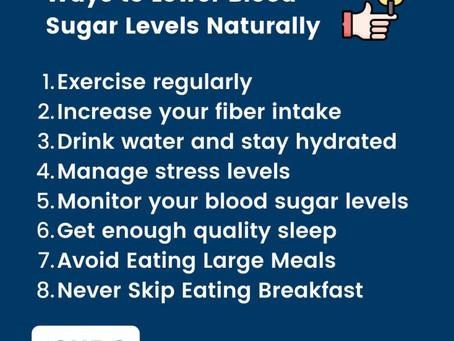 Ways to lower blood sugar levels naturally - Dr Antonio Giordano Sbarro Health Research Organization