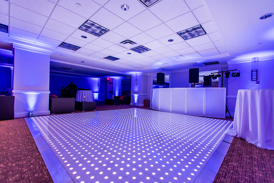 Shiny Floors always make your parties stand out!