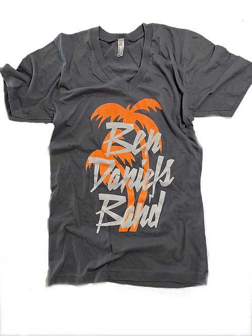 Orange Palm t-shirt