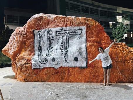 BHS alum paints tribute to bullied UT fan