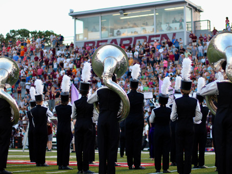 Helping the BHS marching band stay in step