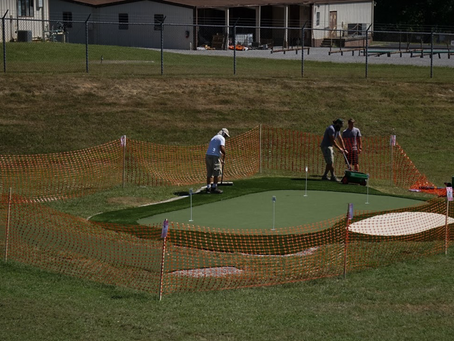 Bearden benefits from new golf practice facility