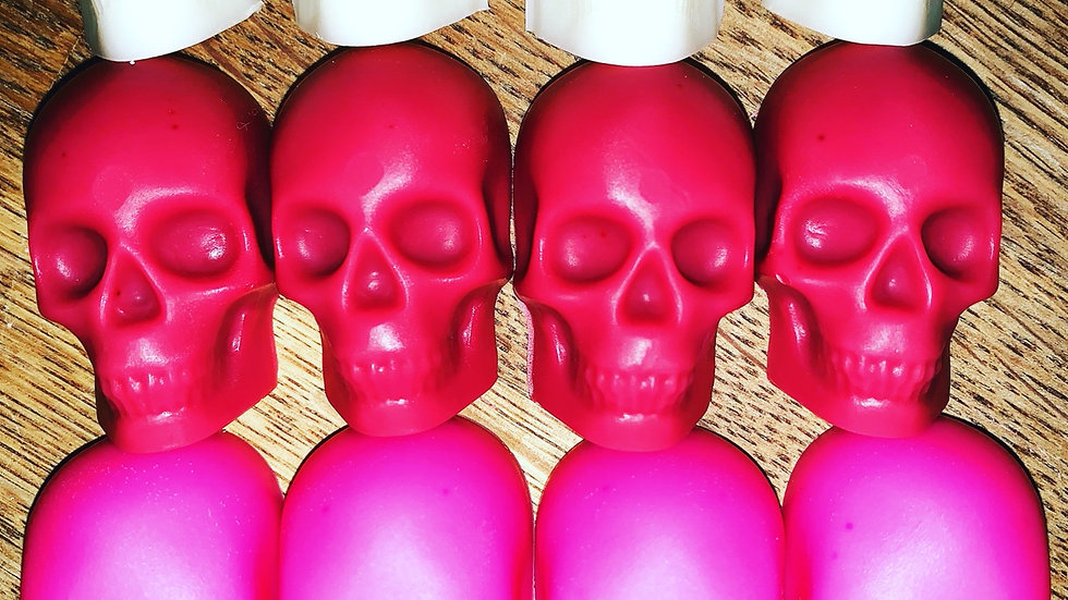 Skull Wax Melts ~40g (set of 4)