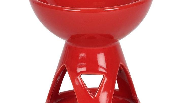 RED DEEP BOWL OIL BURNER