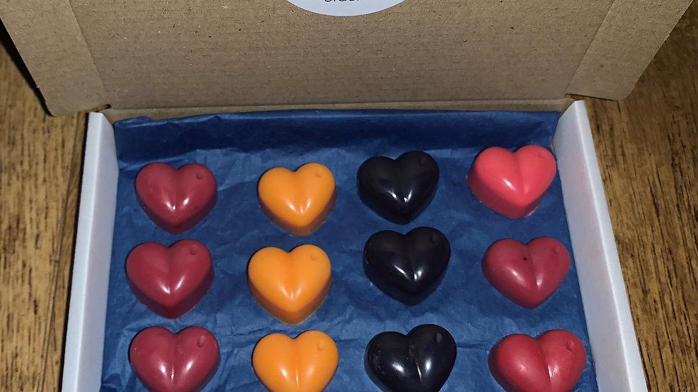 Wax Hearts Sample Box - Something Fruity
