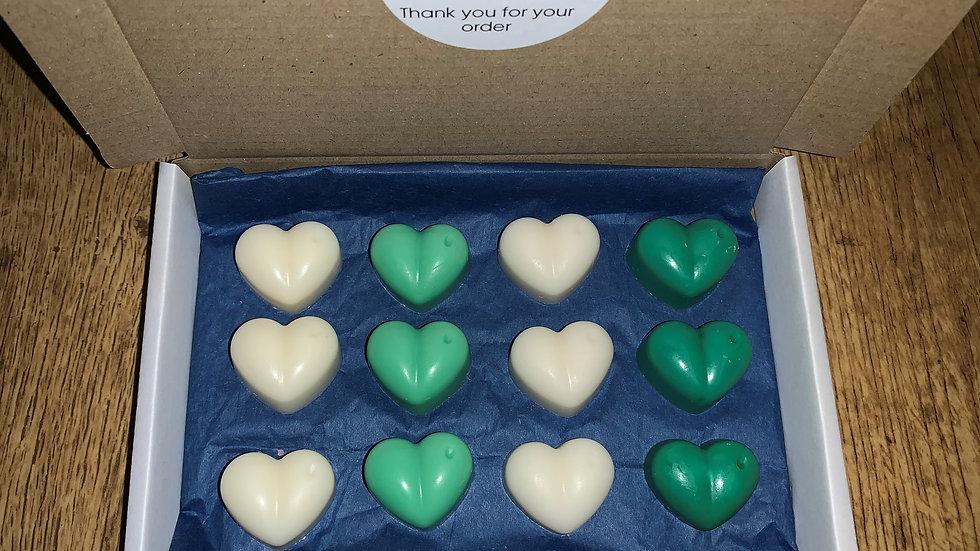 Wax Hearts Sample Box - Home Fragrances