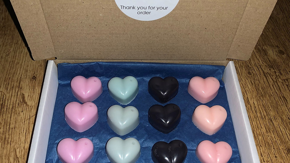 Wax Hearts Sample Box - Inspired By