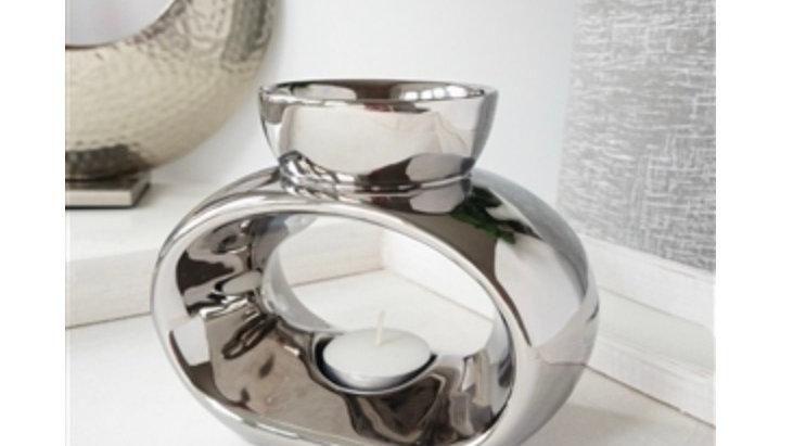 Elegance Ceramic Wax Melter - Chrome