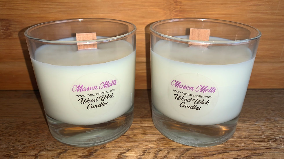Candles with Wood Wick ~190g