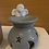 Thumbnail: Cherub wax melt burner ceramic Grey