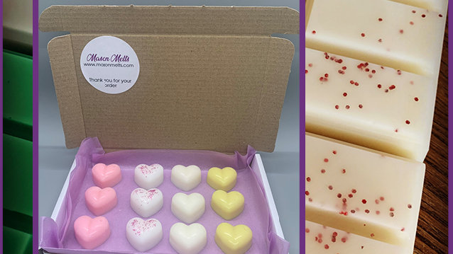 Hearts Sample Box - Kir Royale, Lemonade, Joyous and Vanilla