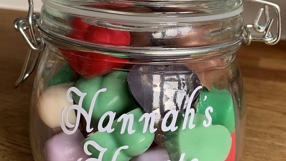 Jar of Hearts - Personalised