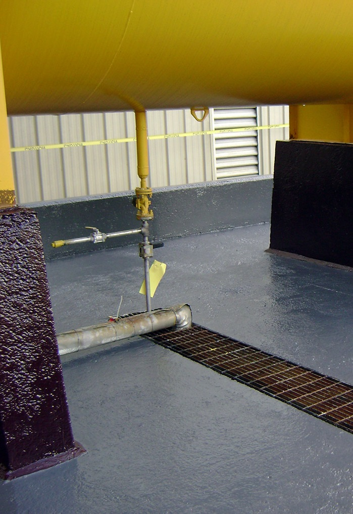 BUND LINING AND COATINGS