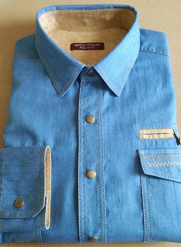 Denim shirt,made to order