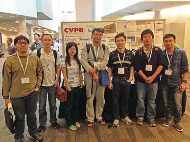 So Many Group Faces in CVPR! (June 2014)
