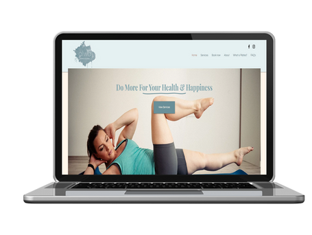 Pilates Instructor Website