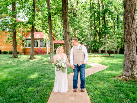 Southern Indiana Wedding at Willow Lake Event Center