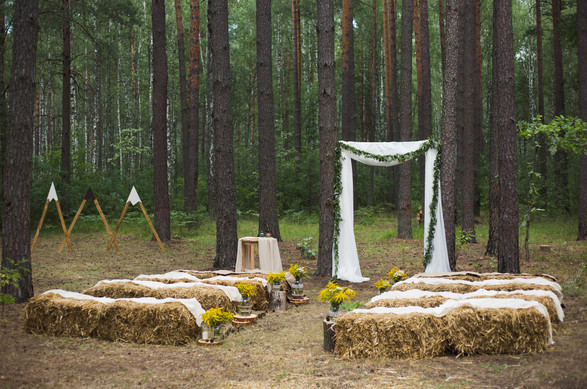 eco wedding decoration
