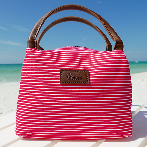 Snappy Red Cooler Bag