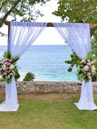 2 Post Wooden Arch