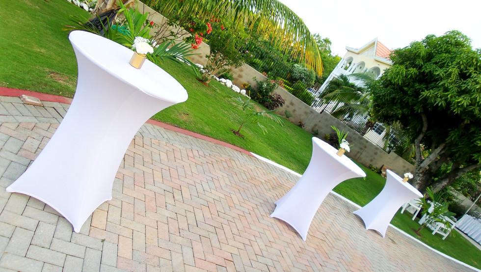 spandex bistro tablecloth