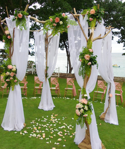 4 post arch canopy driftwood (2)