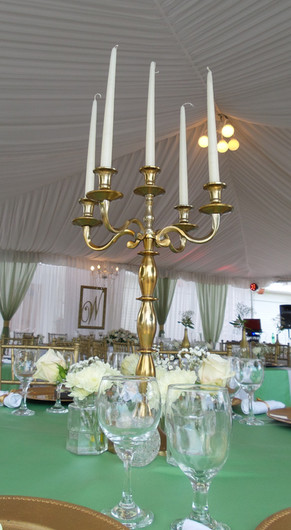 Candelabra with Taper Candles