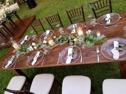 Wooden Farm Tables