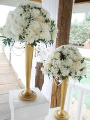 Pedestal Floral Arrangements