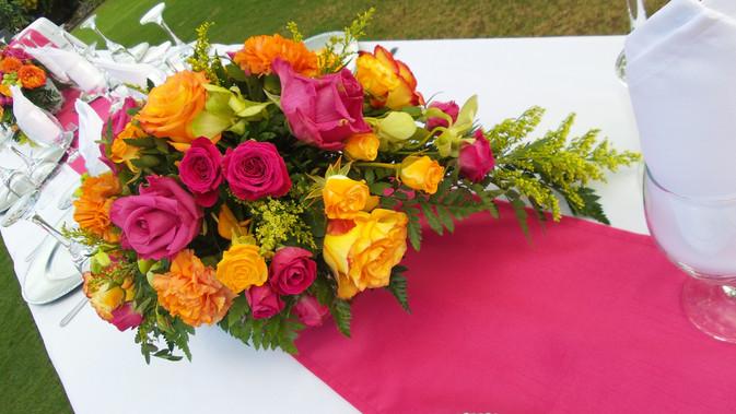 Low Floral Centerpiece