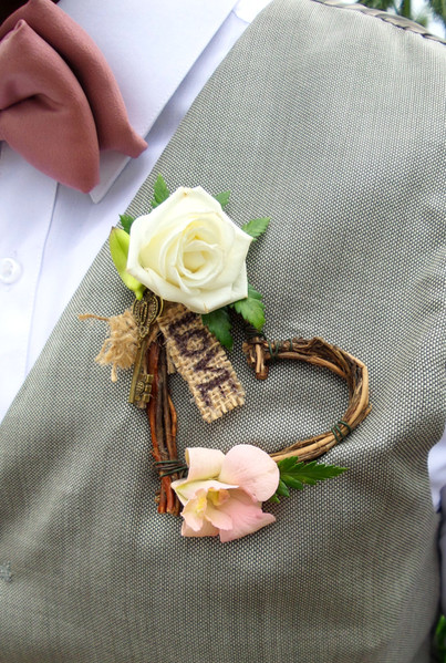 Rustic Boutonniere