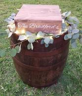 Rum Barrel Cake Stand