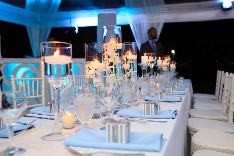 Assorted Candle Centerpiece